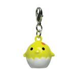 View Image 1 of Chicklet Jingle Bell Dog Collar Charm by Klippo - Yellow