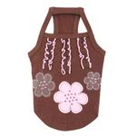 View Image 3 of Choco Mousse Dog Shirt by Pinkaholic - Brown