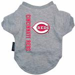 View Image 1 of Cincinnati Reds Dog T-Shirt