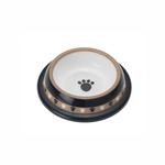 View Image 2 of City Pets Paws Designer Plastic Dog Bowl