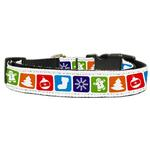 Classic Nylon Christmas Dog Collar