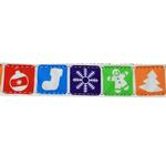 View Image 2 of Classic Nylon Christmas Dog Leash
