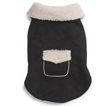 View Image 2 of Classic Sherpa Dog Jacket - Black