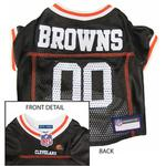 View Image 1 of Cleveland Browns Officially Licensed Dog Jersey - Brown
