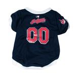 View Image 1 of Cleveland Indians Baseball Dog Jersey