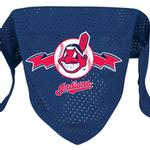 View Image 1 of Cleveland Indians Mesh Dog Bandana