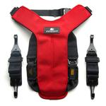 View Image 2 of Clickit Utilty Dog Harness by Sleepypod - Strawberry Red