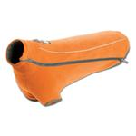 View Image 1 of Climate Changer Fleece Dog Jacket by RuffWear - Burnt Orange