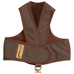 View Image 1 of Cloak & Dawggie Step-N-Go Fleece Lined Harness - Chocolate