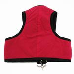 View Image 2 of Cloak & Dawggie Step-N-Go Fleece Lined Harness - Hot Pink with Black