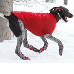 View Image 5 of Cloud Chaser Soft Shell Dog Jacket by RuffWear - Red Rock