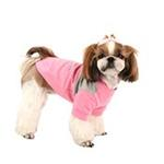 View Image 2 of Coco Dog Shirt by Puppia - Pink