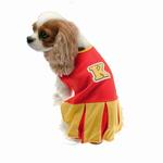 View Image 1 of Collegiate Cheerleader Dog Costume