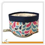 View Image 3 of Color Splash Zippy Dog Bowl by Kurgo