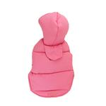View Image 2 of Color Stripes Parka by Dogo - Pink