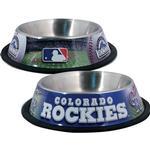 View Image 1 of Colorado Rockies Dog Bowl