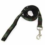 View Image 1 of Hunter Dog Leash by Puppia - Green Camo