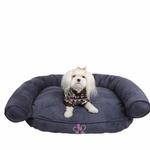 View Image 1 of Comfort Zone Dog Bed by Pinkaholic - Navy