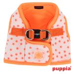 View Image 1 of Cosmic Dog Harness by Puppia - Orange