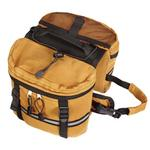 View Image 3 of Cotton Duck Day Tripper Dog Backpack - Camel