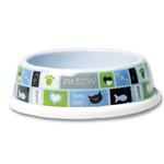 View Image 1 of Cozy Kitty Cat Bowl - Blue