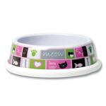 View Image 1 of Cozy Kitty Cat Bowl - Pink