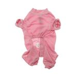 View Image 2 of Cozy Thermal Dog Pajamas - Pink