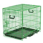 View Image 1 of Crate Appeal Collapsible Wire Dog Crate - Lime Twist