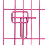 View Image 2 of Crate Appeal Collapsible Wire Dog Crate - Pink Punch