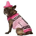 View Image 1 of Crayola Crayon Dog Costume by Rasta Imposta - Pink