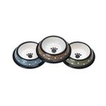 View Image 1 of Crazy Paws Designer Plastic Dog Bowl