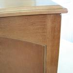 View Image 3 of Crown Cat Litter Cabinet - Mahogany