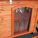 View Image 2 of Crown Pet Cedar Dog House with Slant Roof