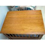 View Image 2 of Crown Pet Wood Dog Crate - Chestnut Brown
