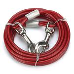 View Image 1 of Cruising Companion Cable Tie Out Leash 15 Ft - Red