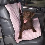 View Image 1 of Cruising Companion Houndstooth Car Seat Cover - Pink