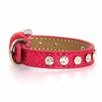 Crystal Ice Cream Dog Collar - Pink