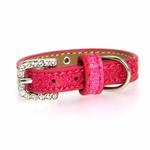 View Image 2 of Crystal Ice Cream Dog Collar - Pink