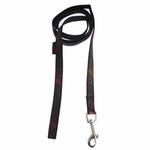 View Image 2 of Cyberspace Dog Leash by Puppia - Black