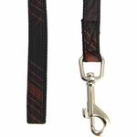 View Image 3 of Cyberspace Dog Leash by Puppia - Black