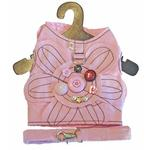 View Image 1 of Daisy Buttons Harness Vest w/ Leash