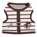 View Image 3 of Dakota Dog Harness by Pinkaholic - Brown