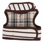 View Image 2 of Dakota Dog Harness by Pinkaholic - Brown