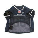 View Image 4 of Dallas Cowboys Officially Licensed Dog Jersey - White Trim