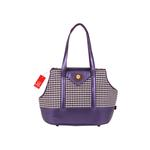 View Image 1 of Darby Dog Carrier by Puppia - Purple
