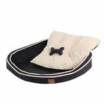 View Image 2 of Dazzle Dog Bed by Puppia - Navy
