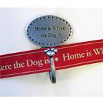 View Image 1 of Decorative Leash Hook - Home is Where the Dog Is