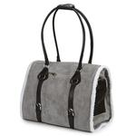 View Image 2 of Deluxe Sherpa Pet Carrier by Zack & Zoey - Gray