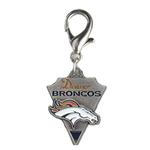 View Image 1 of Denver Broncos Pennant Dog Collar Charm