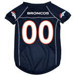 View Image 1 of Denver Broncos Dog Jersey - Blue